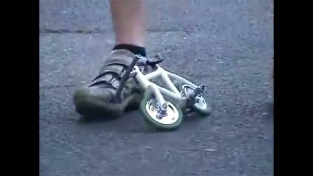 Vélo miniscule